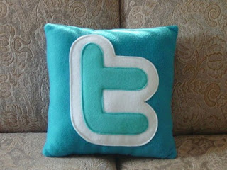 1. Twitter Icon Pillow