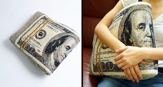 3. Money Pillow