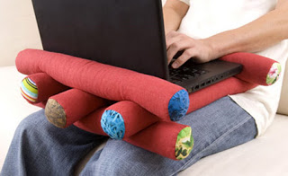 5. Log Laptop Pillow