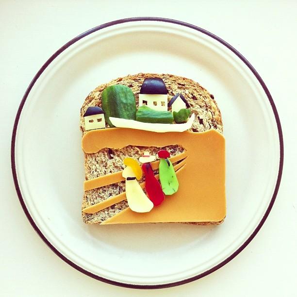 Tableaux-celebres-Food-Art-idafrosk-12