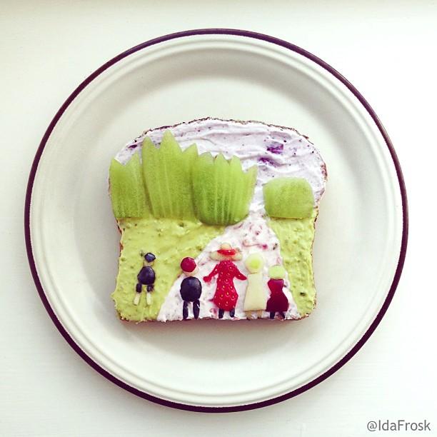 Tableaux-celebres-Food-Art-idafrosk-14