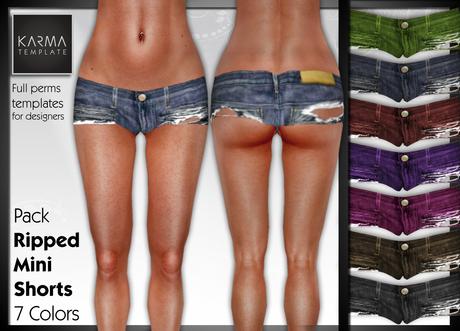 la-banane-qui-parle-Mini Shorts 7 Colors
