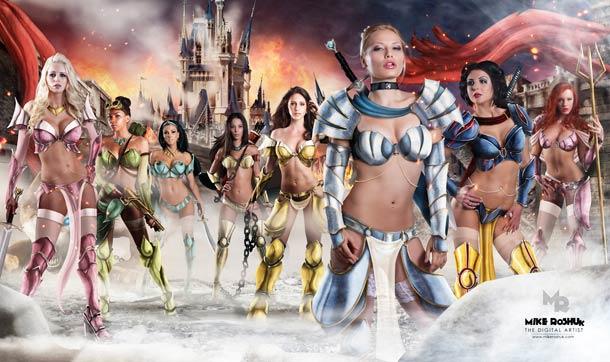 la-banane-qui-parle-disney-princesses-warriors-3