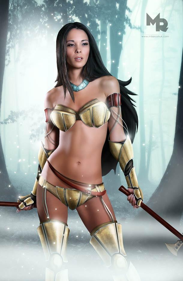 la-banane-qui-parle-disney-princesses-warriors-5