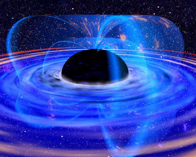 Getty Images/Getty Images ?Black holes: The full stop at the end of everything.