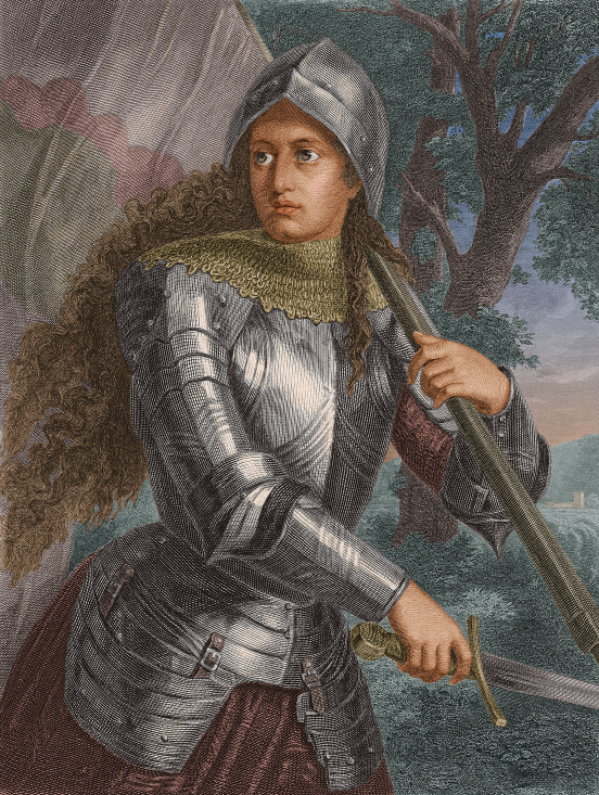 Joan Of Arc In Armour