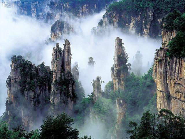 Labananequiparle-Montagnes de Tianzi-China