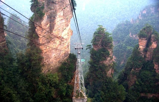 Labananequiparle-Montagnes de Tianzi-China2