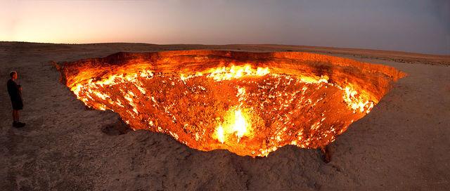 Labananequiparle-porte des enfers-Derweze- Turkmenistan