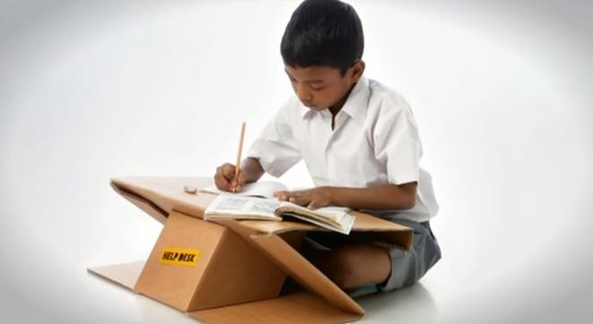 labananequiparle-carton-recyclé-bureau-cartable-inde-3