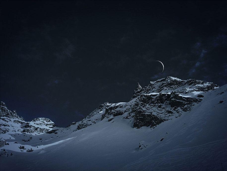 labananequiparle-montagne-penombre-lune