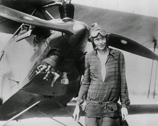 labananequiparle -avion-traverse-Altantique-Amelia-Earhart