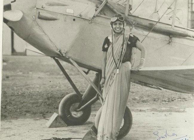 labananequiparle-licence-pilote-inde-Sarla-Thakral