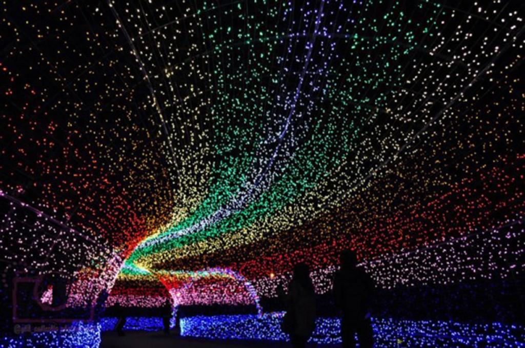 labananequiparle-nabano-no-sato-tunnel-of-lights-japan-600x398