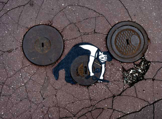 labananequiparle-street-art-rue-egout
