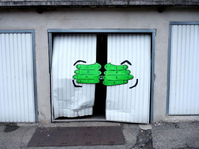 labananequiparle-street-art-rue-porte-garage