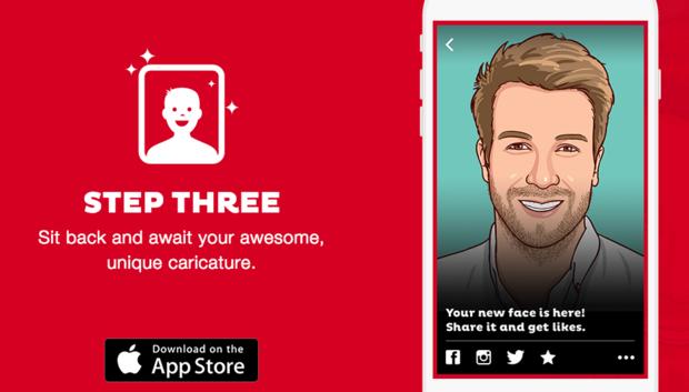 labananequiparle-fiverr-application-smartphone-caricature-4