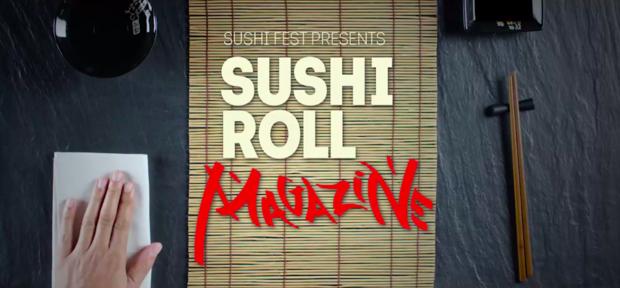 labananequiparle-sushi-fest-bar-magazine-transforme-rouleau-maki-promouvoir-festival-dedie-aux-sushis