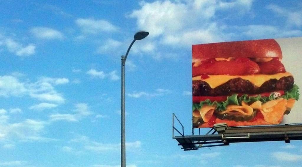 labananequiparle-pancartehamburger-gilbertmercier