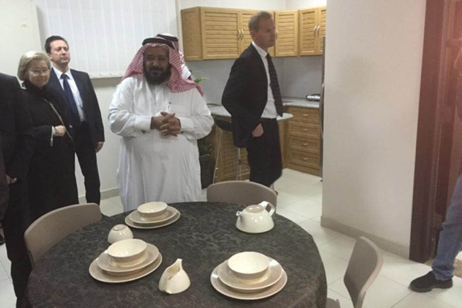 Une cellule familiale du « Centre Mohammad Bin Nayaf de conseil et de soins ». © Jérôme Rabier/Public Sénat