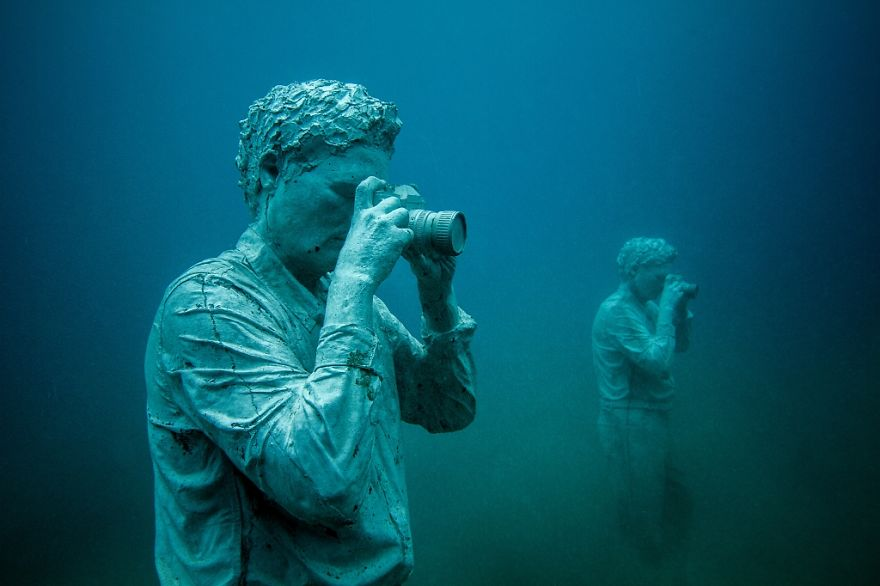 labananequiparle-sculpture-musee-sous-marin-canaries