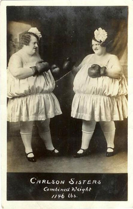 labananequiparle-foire-aux-monstres-photos-vintages-11