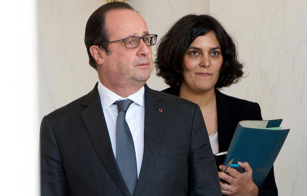 Francois-Hollande-et-Myriam-el-Khomri