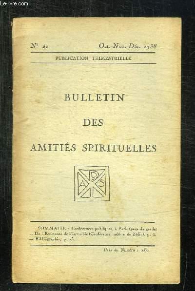 bulletin 4 des amities spirituelles